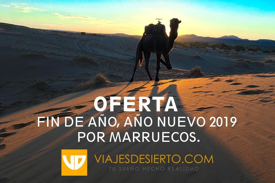 Fin de año nuevo 2019 por Marruecos.