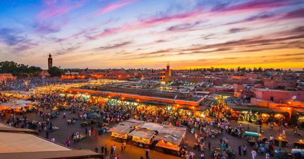 moverse por marrakech
