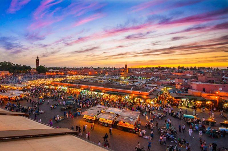 Moverse, Cómo moverse por Marrakech