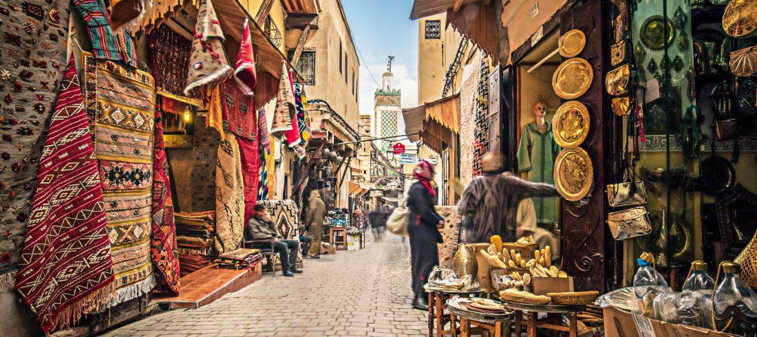 Tour de 4 días desde Marrakech al Desierto finalizando en Fez