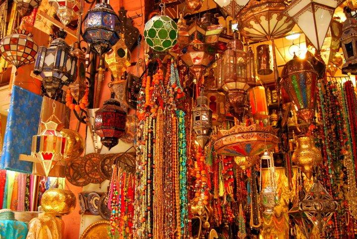 ir de compras a marrakech