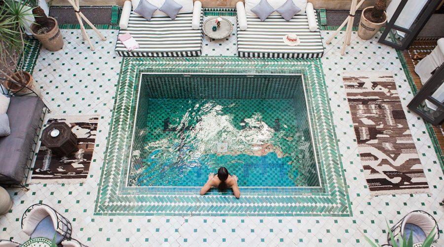 Los hoteles con encanto Arabe y Bereber - Riads