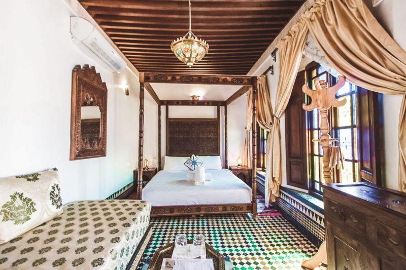 dormir, Dónde dormir en Fez