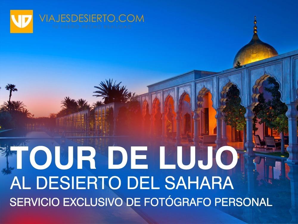 viaje de lujo al sahara con fotografo