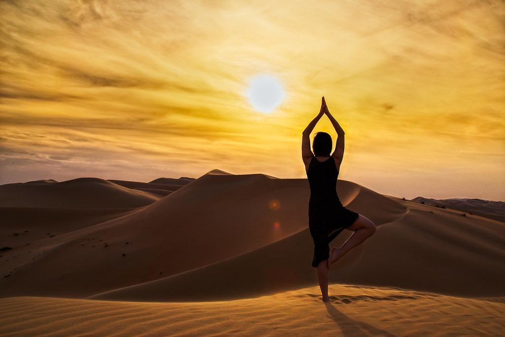 Yoga en el Desierto de Marruecos