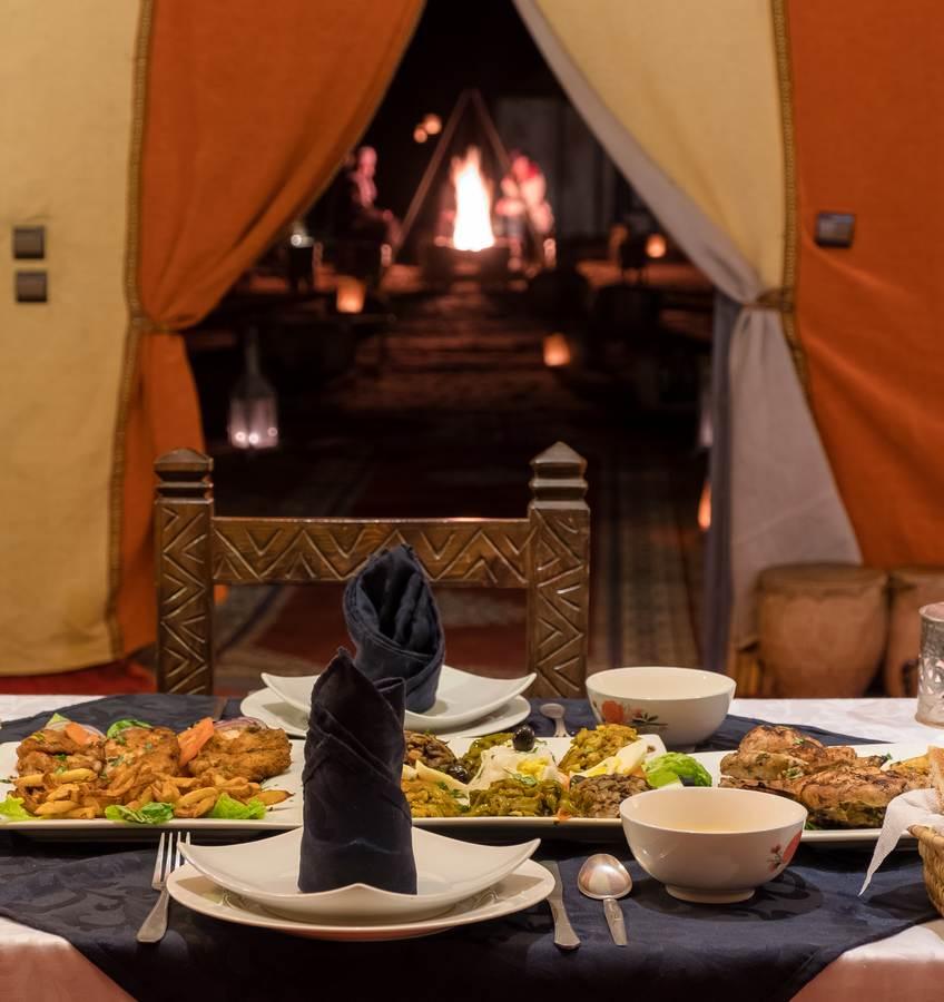 Cena Haimas lujo Desierto Merzouga