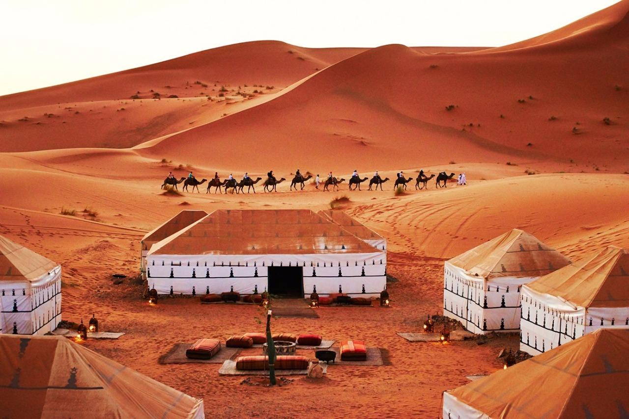 Jaimas julo Desierto Marruecos