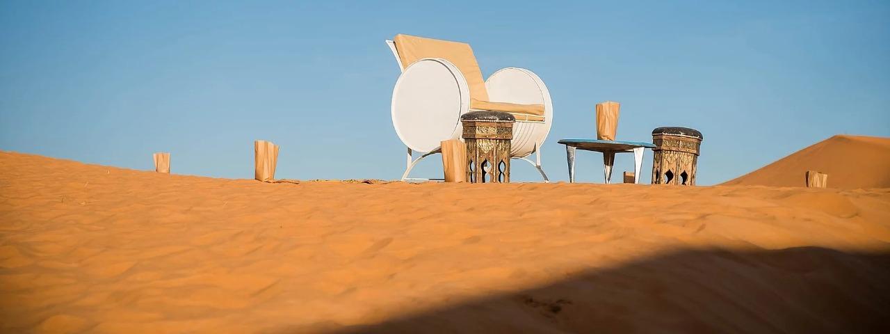 Mirador en Las dunas