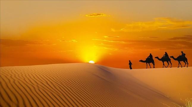 Reyes Magos Desierto Marruecos