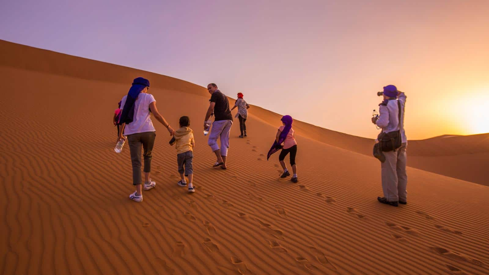 Viajar con niños con VIAJES DESIERTO